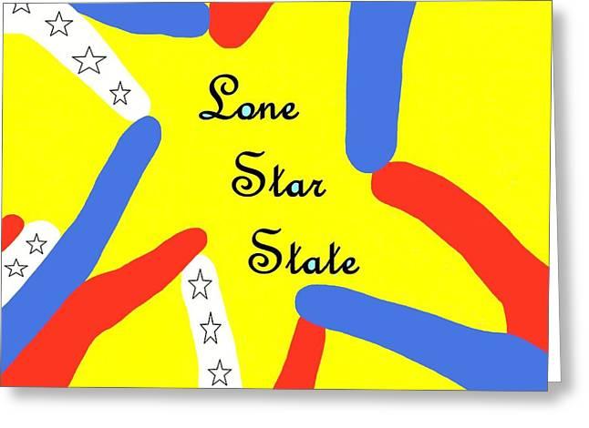 Lone Star State Greeting Card