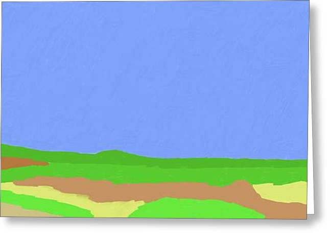 Lone Tree Hill Greeting Card by Bruce