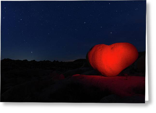 Greeting Card featuring the photograph Lonely Heart   by Tassanee Angiolillo