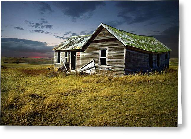 Lonely House Greeting Card