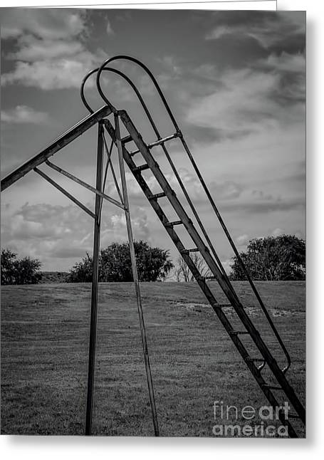 Lonely Ladder Greeting Card