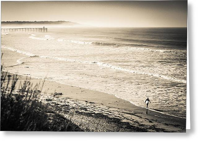 Lonely Pb Surf Greeting Card