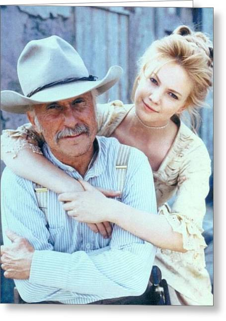 Lonesome Dove Gus And Lori Greeting Card by Peter Nowell