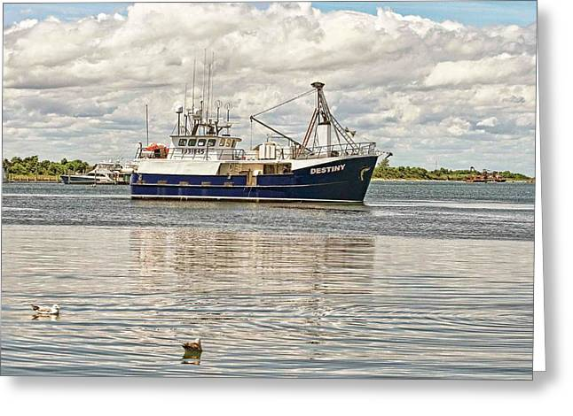 Long beach island fishing boat at marina photograph by for Long beach fishing boat