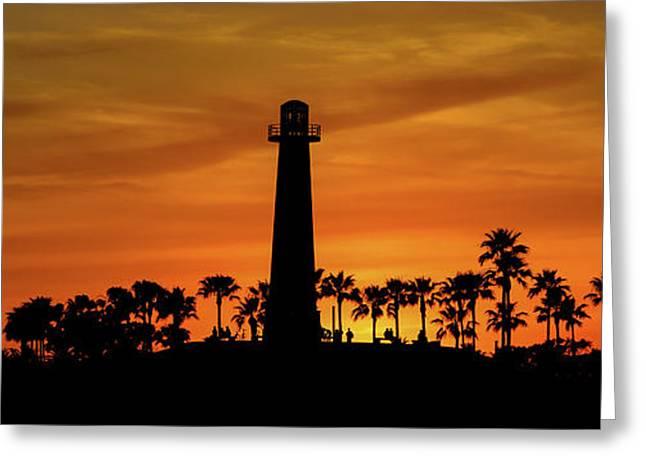 Long Beach Lighthouse Greeting Card