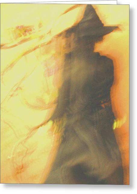 Long Cool Woman In A Black Dress Greeting Card by Susie DeZarn
