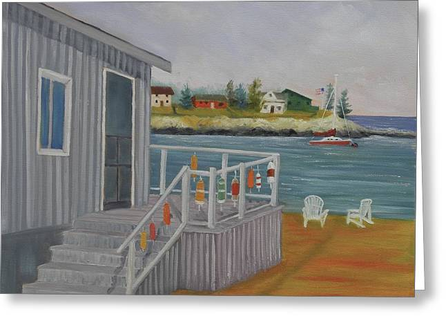 Long Cove View Greeting Card