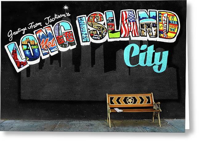 Long Island City Greeting Card