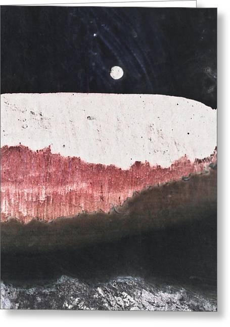 Long Night Slow Moon Greeting Card by Ryan Kelly