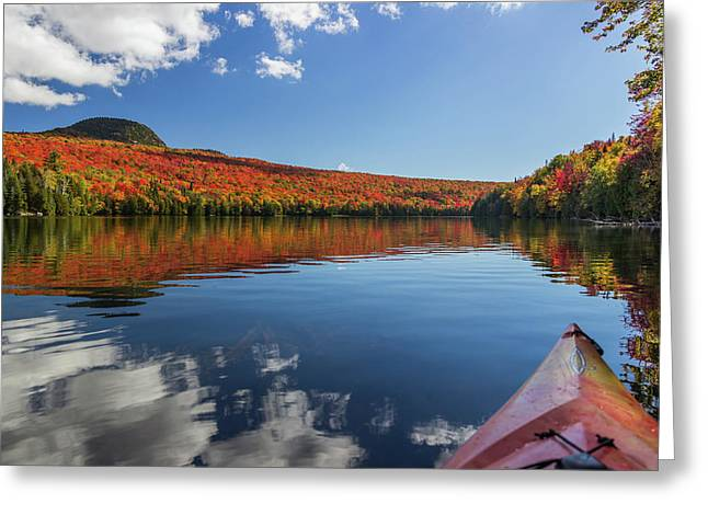 Long Pond From A Kayak Greeting Card