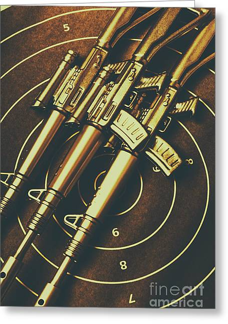 Long Range Tactical Rifles Greeting Card