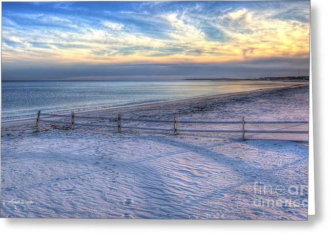 Greeting Card featuring the photograph Long Shadows by Michelle Wiarda