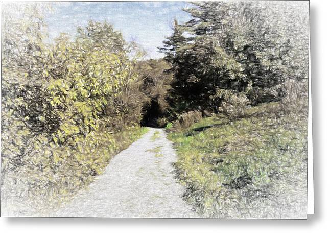 Long Trail Greeting Card