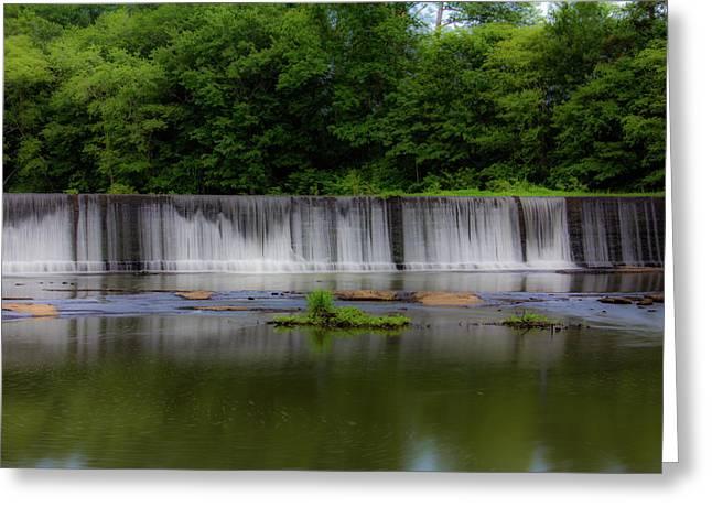 Long Waterfall Greeting Card