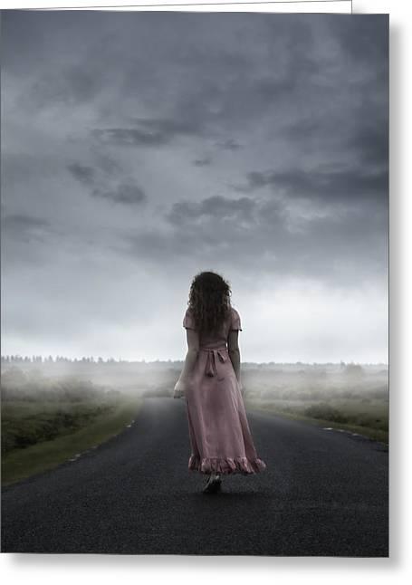 Long Way To Walk Greeting Card by Joana Kruse