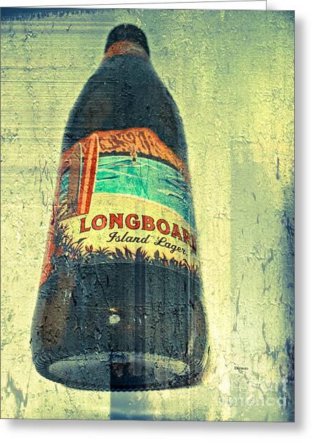 Longboard  Greeting Card by Steven  Digman