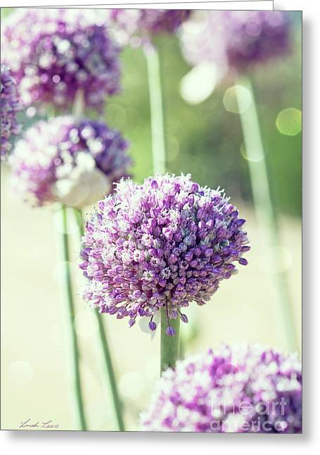 Greeting Card featuring the photograph Longing For Summer Days by Linda Lees