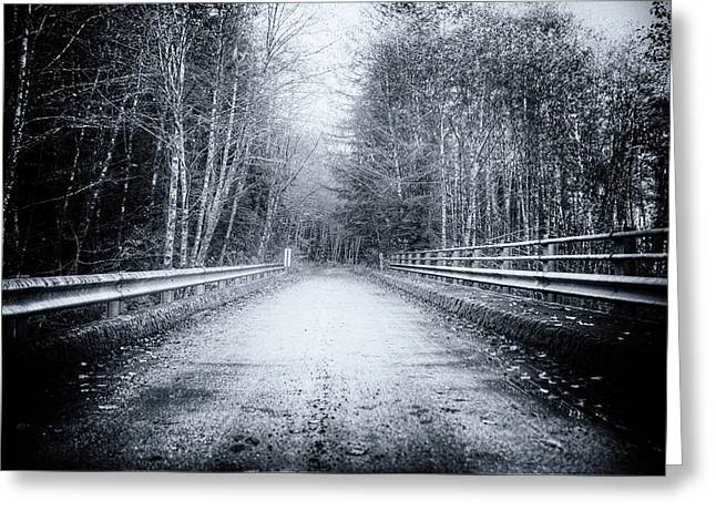 Lonliness Highway Greeting Card by Spencer McDonald
