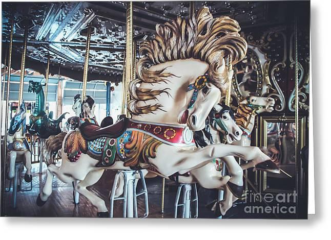 Looff Stallion - Carousel Greeting Card