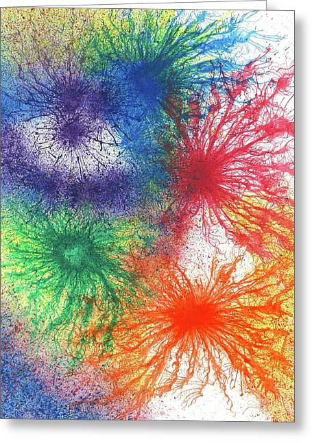 Look For The Rainbow When It Rains #446 Greeting Card