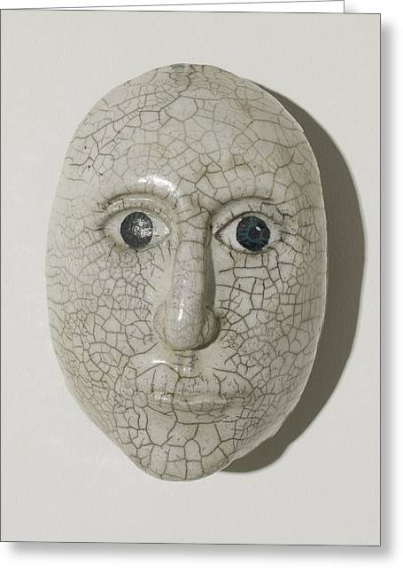 Look Into My Eyes Greeting Card by Jason Galles