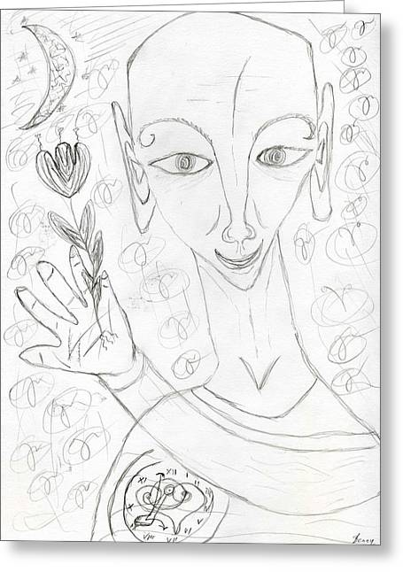 Look Into My Eyes. Love Greeting Card