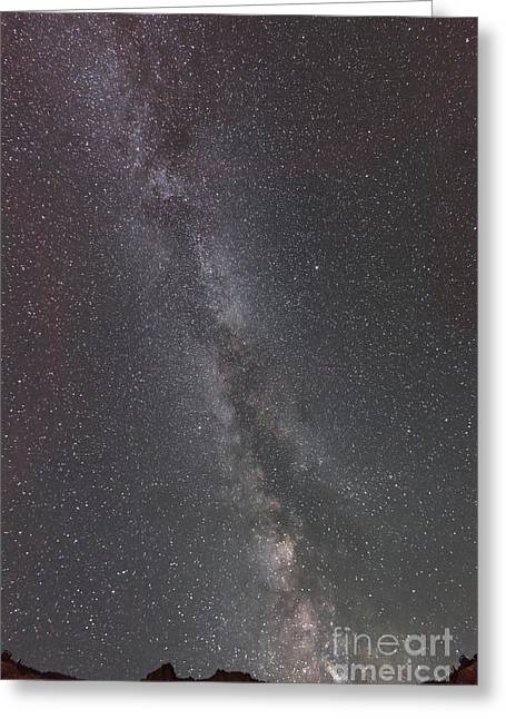 Look To The Heavens Greeting Card by Sandra Bronstein