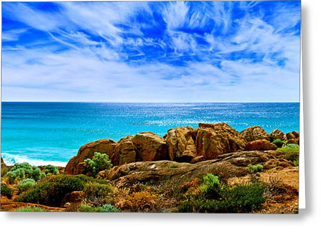 Look To The Horizon Greeting Card by Az Jackson