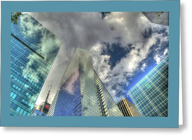 Look Up Greeting Card by Allen Beatty