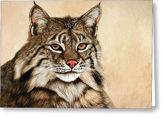 Lookin' Good Greeting Card by Jacquie Vaux