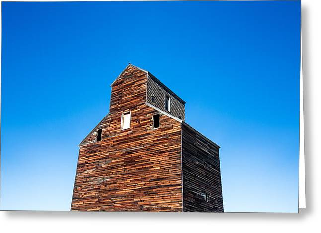 Loring Grain Elevator Greeting Card