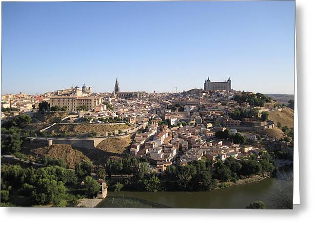 Looking At Toledo Greeting Card