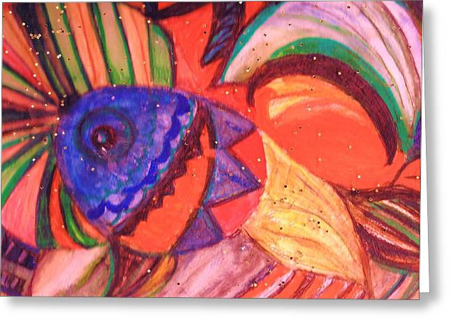 Looking For A Rainbow Greeting Card by Anne-Elizabeth Whiteway