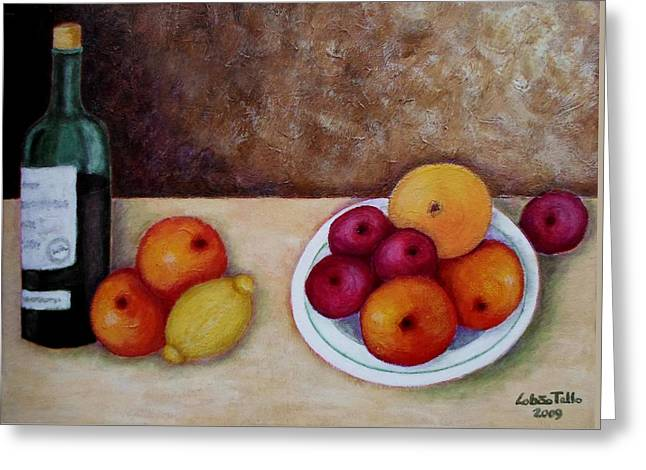 Looking For Cezanne II Greeting Card by Madalena Lobao-Tello