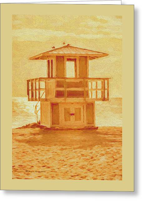 Looking For Summer Greeting Card by Marvin Spates