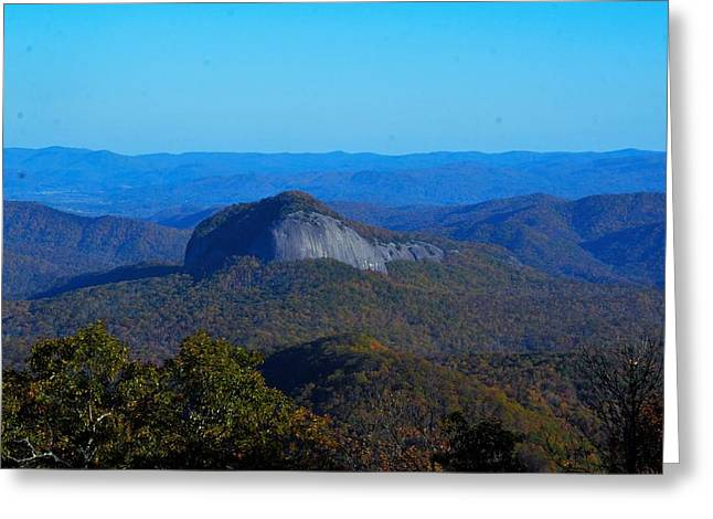Looking Glass Rock Greeting Card