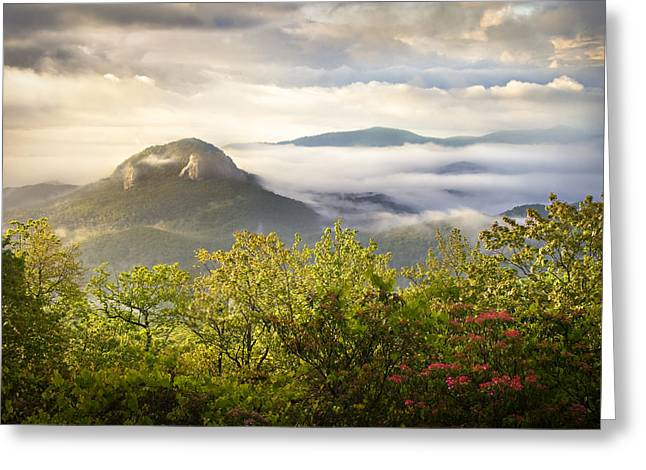 Looking Glass Sunrise - Blue Ridge Parkway Landscape Greeting Card