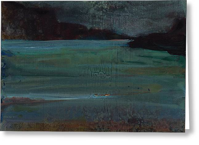 Loch Carron, Scotland Greeting Card by Eleanore Ditchburn