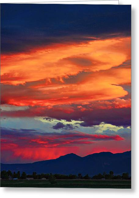 Looking To Boulder Greeting Card by James BO  Insogna