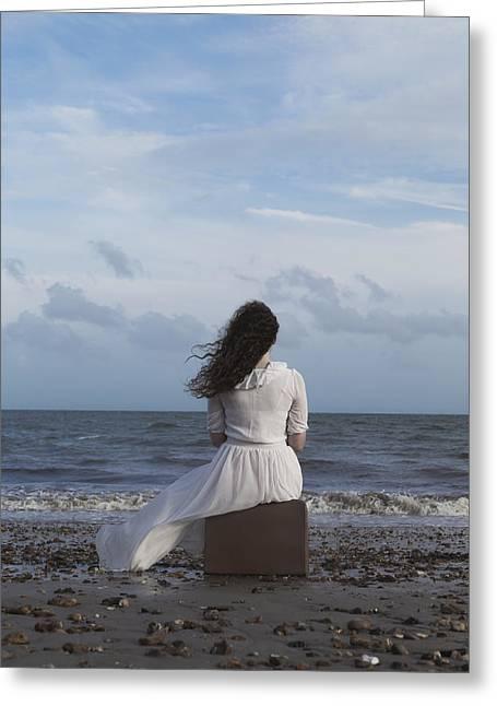 Looking To The Horizon Greeting Card by Joana Kruse
