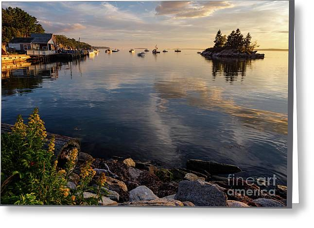 Lookout Point, Harpswell, Maine  -99044-990477 Greeting Card