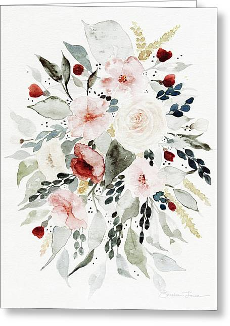 Loose Florals Greeting Card