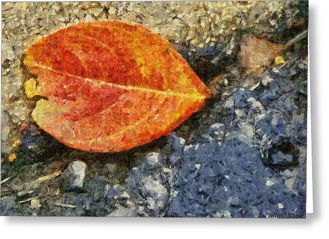 Loose Leaf Greeting Card