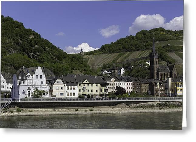 Lorchhausen Germany 03 Greeting Card by Teresa Mucha