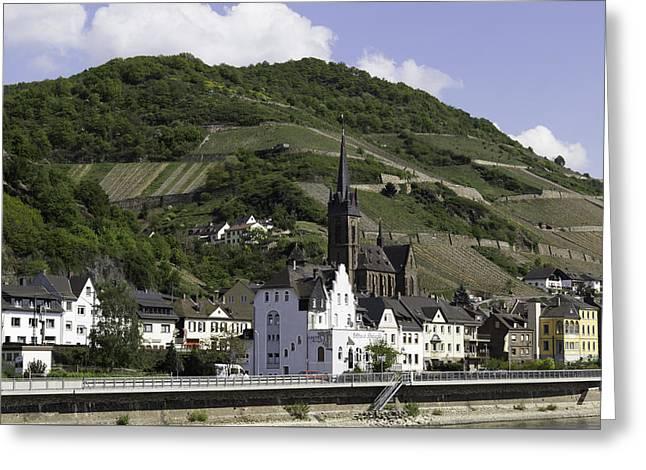 Lorchhausen Germany Greeting Card by Teresa Mucha