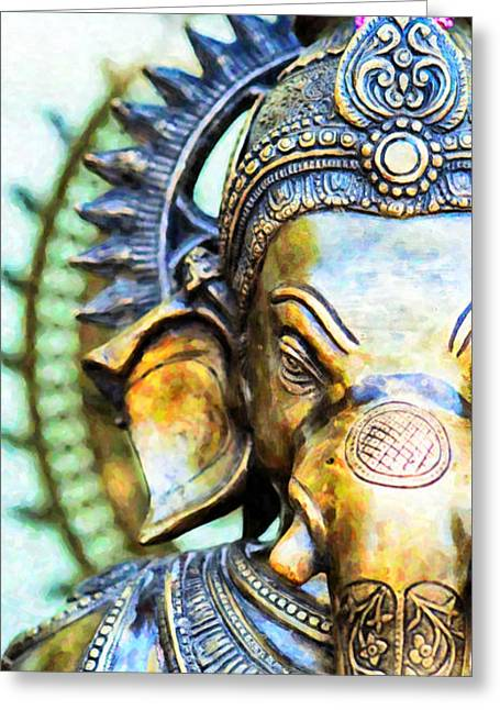 Lord Ganesha Greeting Card