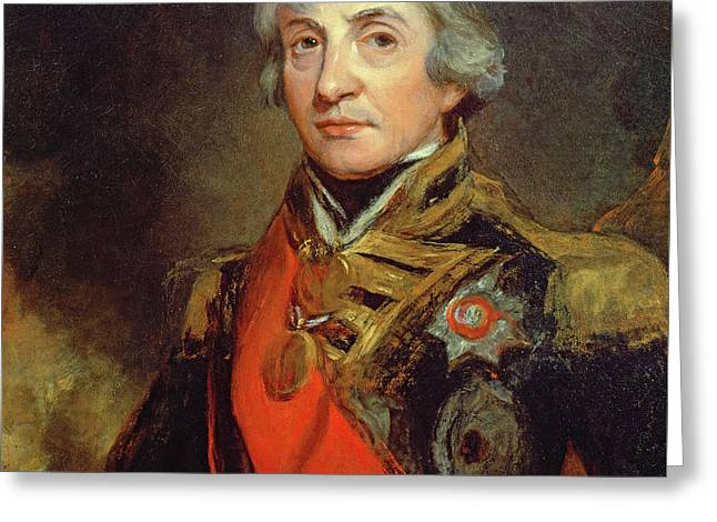 Lord Nelson Greeting Card
