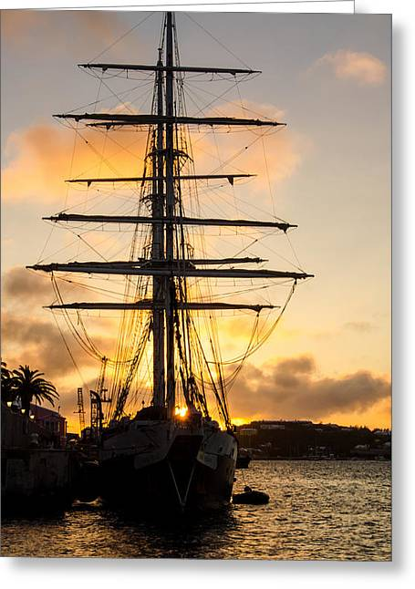 Lord Nelson Sunrise Greeting Card