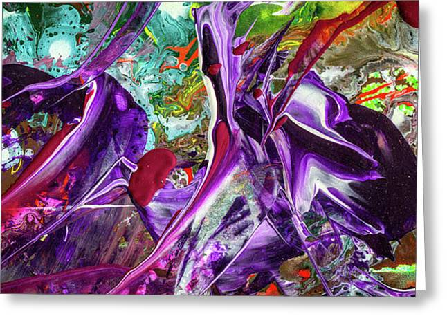 Lord Of The Rings Art Colorful Modern Abstract Painting