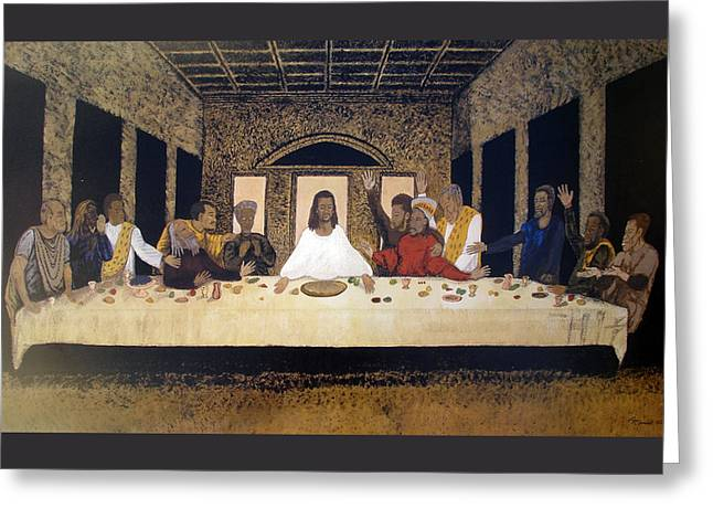 Lord Supper Greeting Card